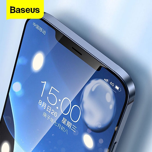 Baseus 2Pcs 0.23mm Tempered Glass for iPhone 12 11 Pro XS Max XR X  Glass Film