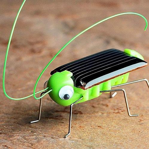 Solar Power Energy Insect Grasshopper 1pc