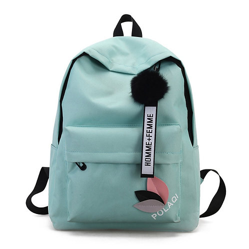 High Quality New Arrival Women's Canvas Backpack