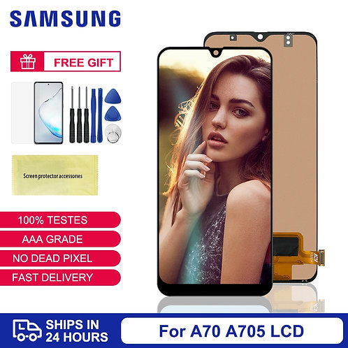 For Samsung A70 Display TFT