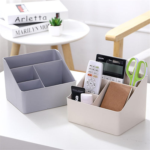 Coloffice Plastic Creative Stationery Holder Desktop Storage Box 1Piece