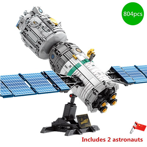 Space Flight Rocket Perations Launcher Manned Building Blocks
