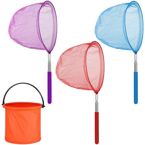 4PCS Colorful Biology Toys Good Quality Insect catcher