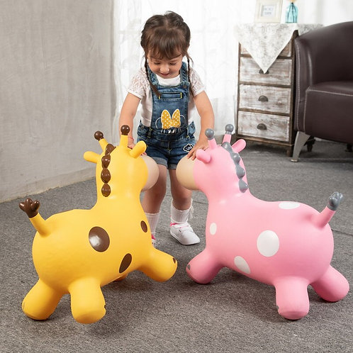 Inflatable bouncer toy