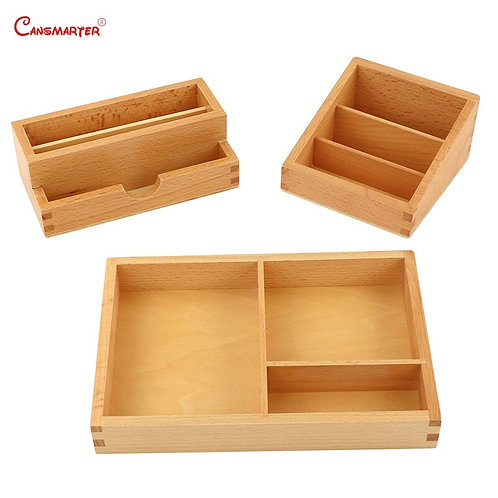 Cansmarter Montessori Kids Teach Box