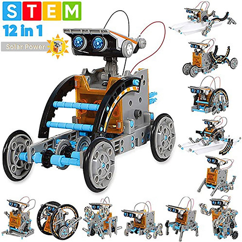 Stem Toys 13 in 1 Educational Toys Solar Robot 8-10 yrs old