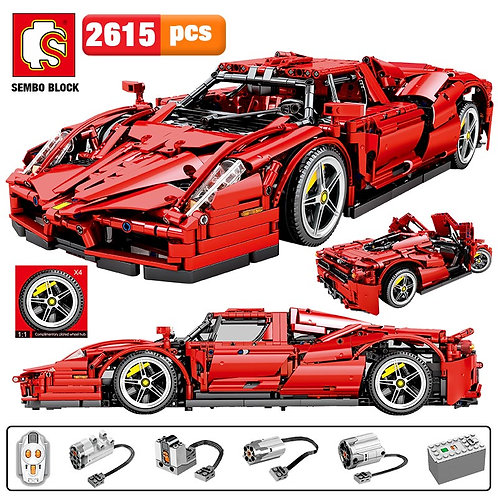 SEMBO 2615pcs MOC City Remote Control