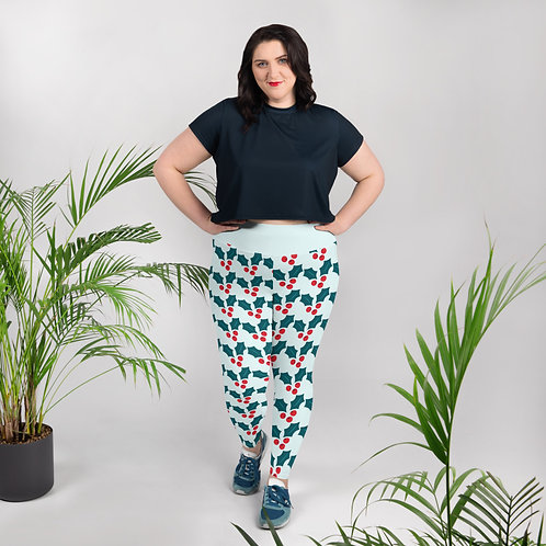 Holiday 2020 All-Over Print Plus Size Leggings