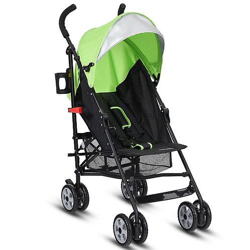 Folding Lightweight Baby Toddler Umbrella Travel Stroller W/ Storage Basket Out