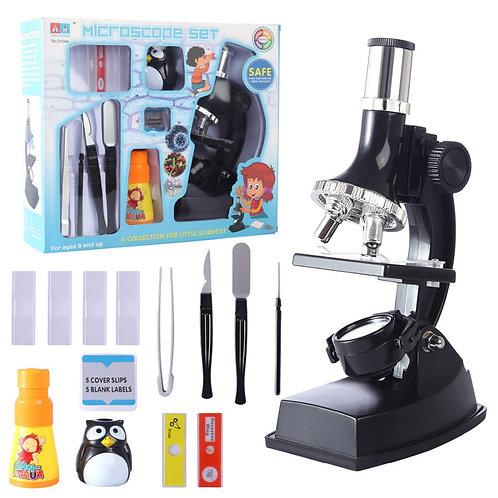 900x Children Microscope Set