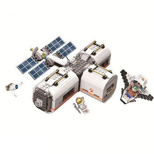 The New Moon Space Station Rover Test Drive building blocks