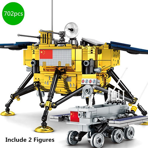 Creator Aerospace Space Flight Lunar Detector Building Blocks Kit