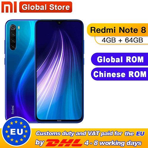 Chinese ROM Xiaomi Redmi Note 8 4GB 64GB