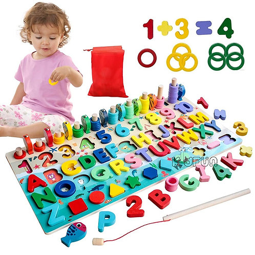 Montessori Toys Educational Wooden Toys for Kids for 1 2 3 Years