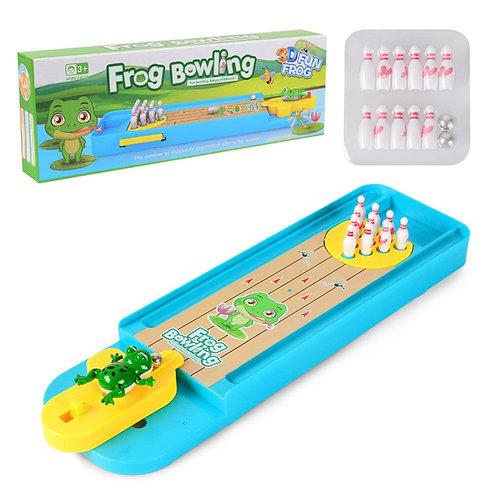 Children'S Puzzle Board Game Interactive Creative Mini Bowling