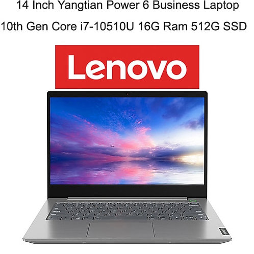 2020 Lenovo Laptop Power 6 With I7-10510u 16GB Ram 512GB SSD Memory Metal Body