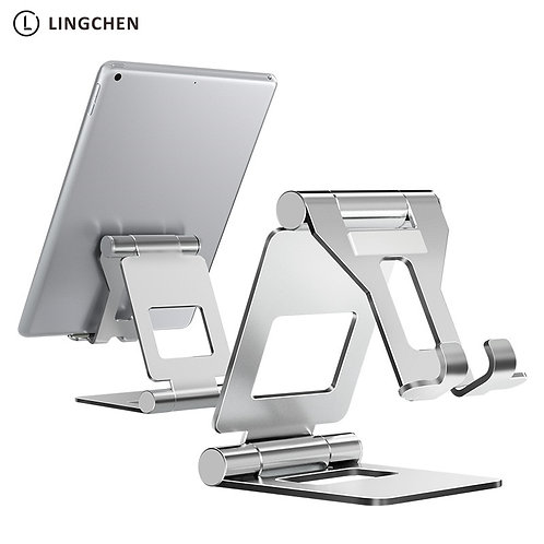 LINGCHEN Tablet Stand Adjustable Foldable Tablet Holder
