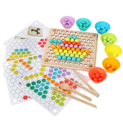 Kids Toys Montessori Wooden Toys Hands Brain Training