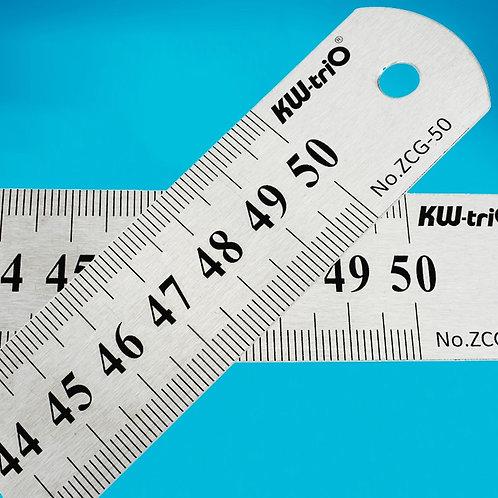 1PC Metal Ruler Sewing 15 20 30 50cm School