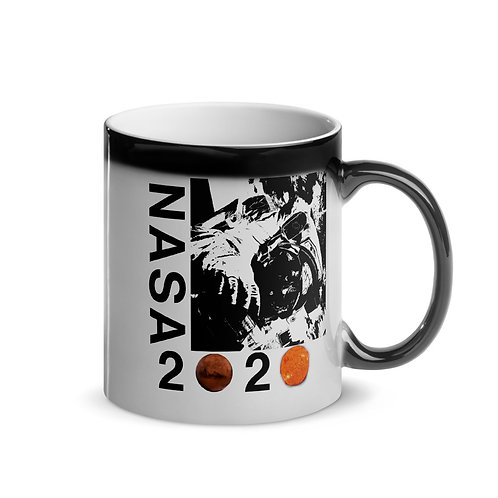 NASA 2020 Glossy Magic Mug