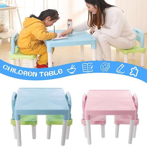 Children Folding  Set Kids Gaming Learning table