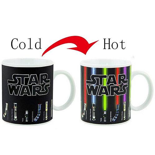 NEW Star Wars Kylo Ren Lightsaber Mug Heat Changing mugs