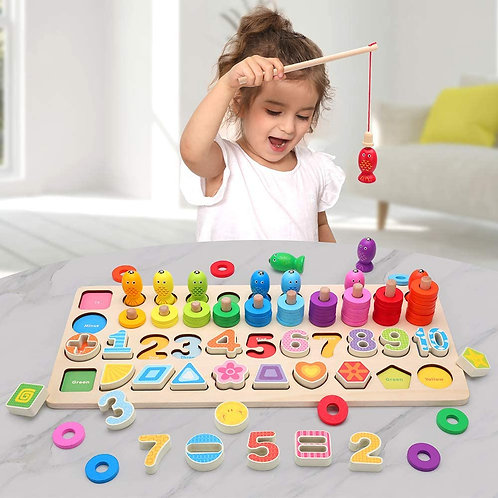 Montessori Educational Wooden Toys for Kids