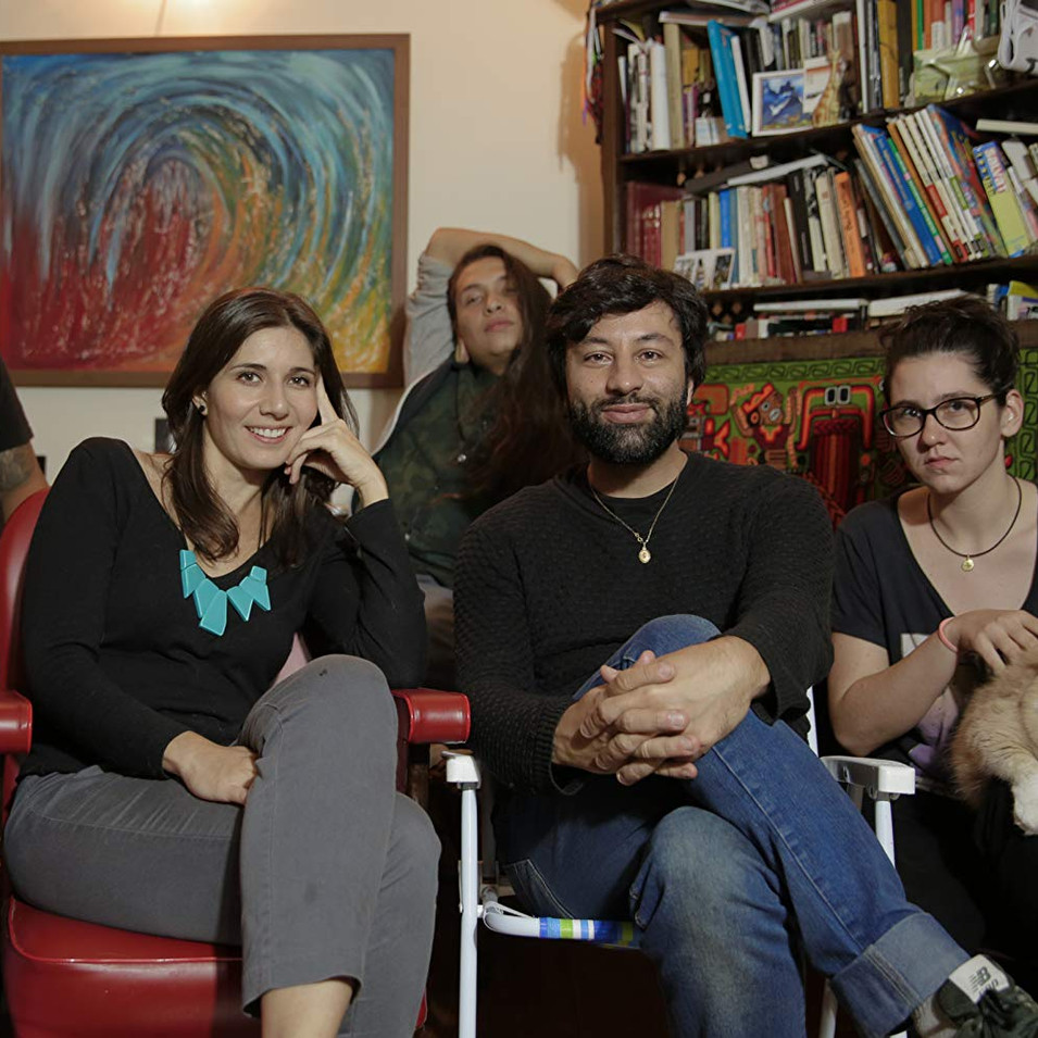 Livia Perez and crew