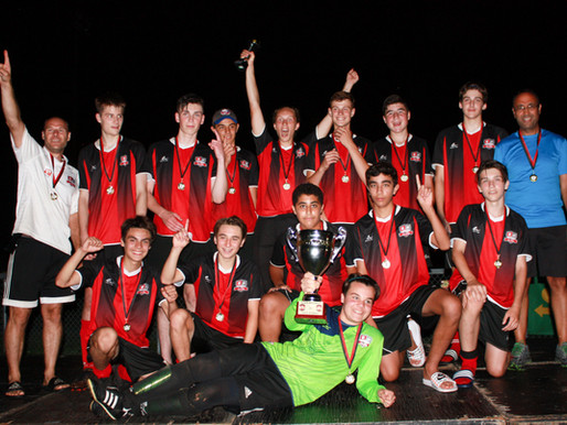 Félicitations au U16MD1 - Champion du Tournoi de Trois-Rivières!