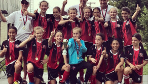 Félicitations au U11FD1 - Championne du tournoi de Trois-Rivières