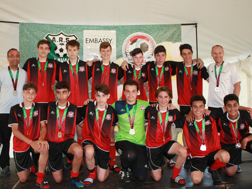 Bravo à l'équipe U16MD1 - Finaliste de la Coupe Soccer Internationale de Laval