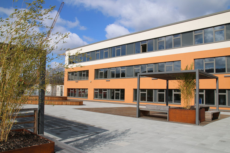 Passivhaus Schulgebäude, Saarland