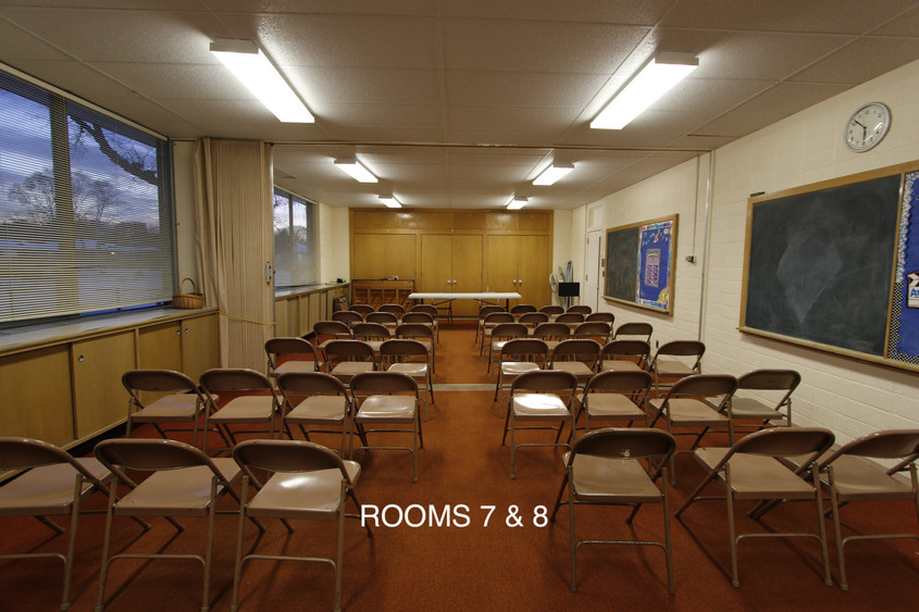 ROOMS 7 & 8