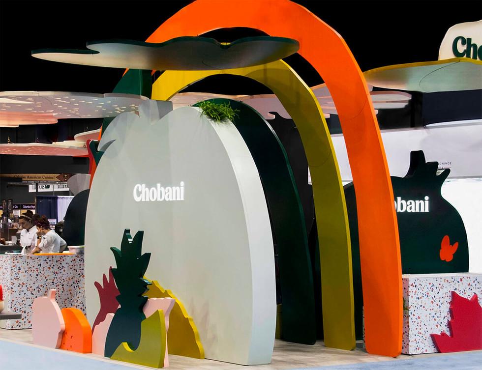 Chobani 展台