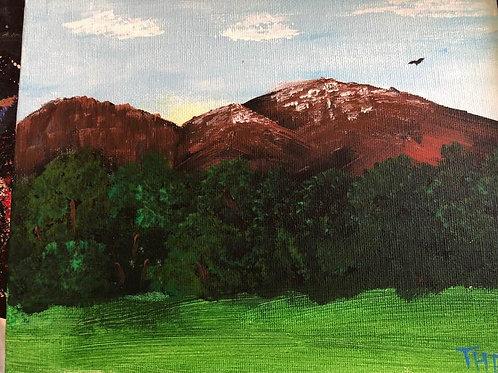 11 Mountains 8x10