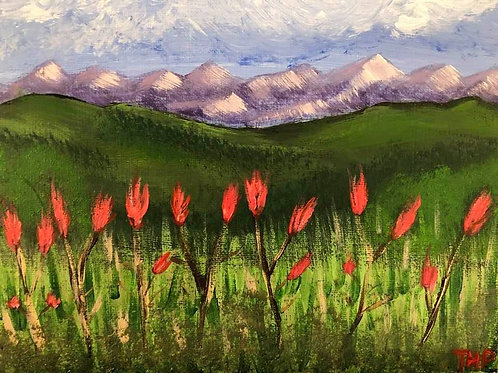 189 Wild Flowers 8x10