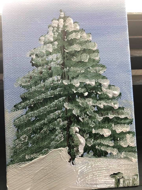 57 Christmas Tree 4 x 6