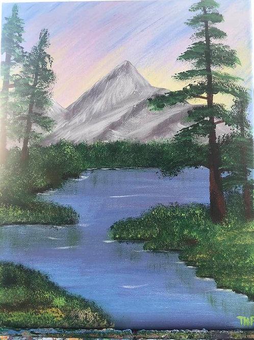 247 Mountain Lake 11x14s