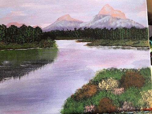 162 Mountains 9 x 12s