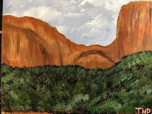 63 Zion West of Tunnel 8 x 10
