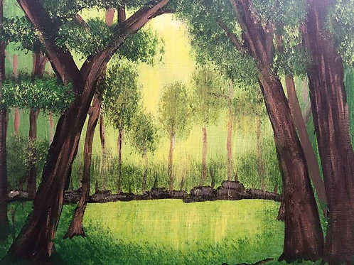 196 Enchanted Forest 8x10