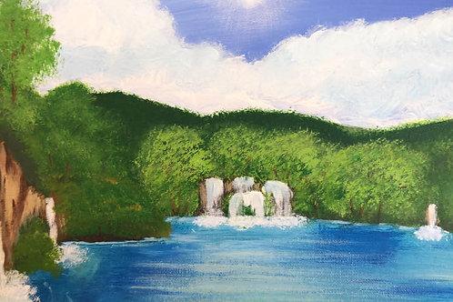 166 Waterfalls 11 x 14