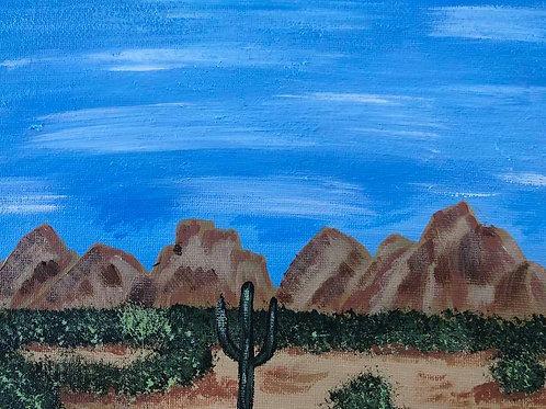 115 Desert Sky 8 x 10