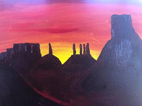 131 Monument Valley 11 x 14