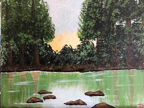 158 Hidden Pond 8 x 10s
