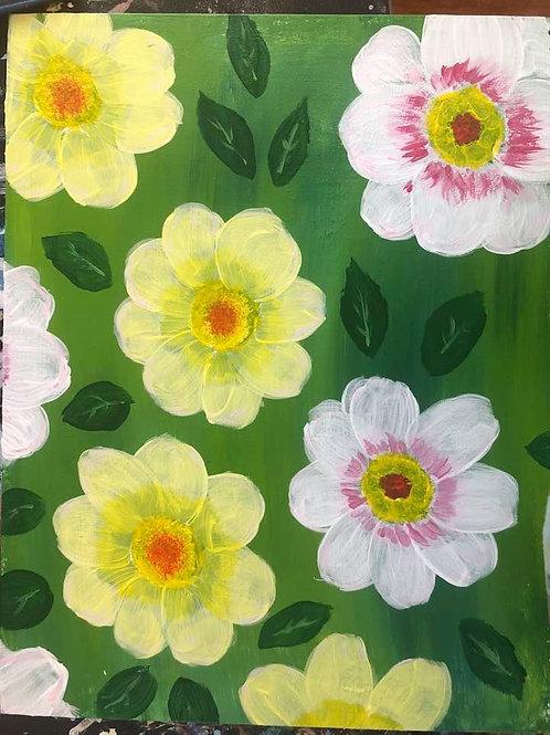 136 Flowers 11 x 14