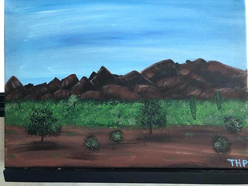 77 Quartzsite Desert 12 x 16