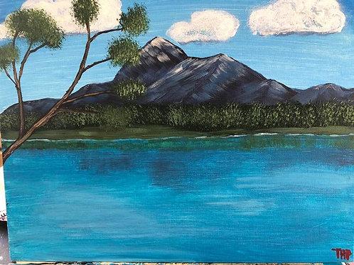 140 Mountain Lake 11 x 14
