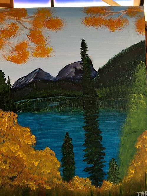 145 Hidden Lake 11 x 14