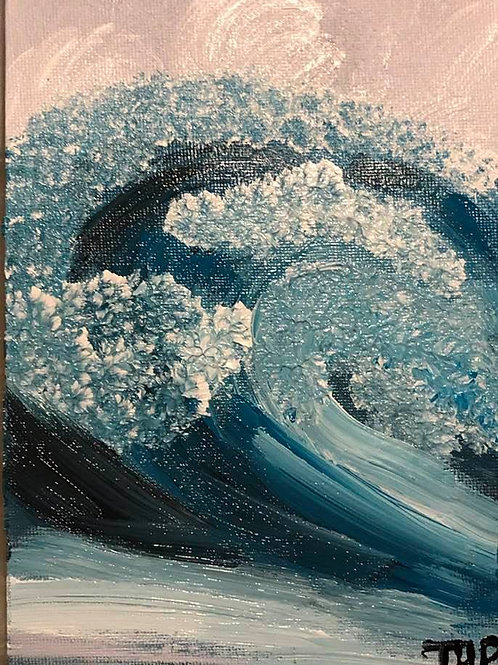 225 the Wave 5x7